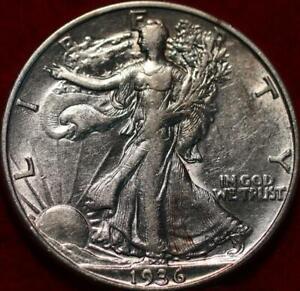 1936-D Denver Mint Silver Walking Liberty Half