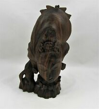 Ironwood Hand Carved African Statue