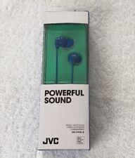 JVC Powerful Sound In-Ear Headphones - Blue