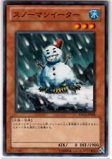 Yu-Gi-Oh Snowman Eater DB12-JP008 Common Mint