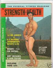 Strength & Health Bodybuilding Muscle Magazine Jack LaLanne 10-63