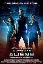 Cowboys & Aliens movie poster print : 11 x 17 inches Daniel Craig. Harrison Ford
