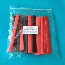 Heat Shrink Tubing 10mm 2 Colours Heat Shrink Red Black Wrap Tube Kit - HSK BR2