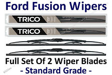 """2006-2012 Ford Fusion Wiper Blades Full Set of 2 Wipers: 24""""+19"""" - 30240/30190"""
