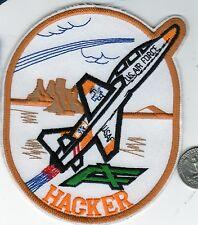 US Air Force Squadron Patch Large Squadron Hacker