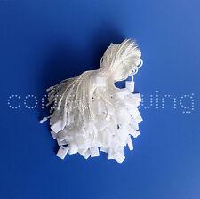 "7"" 100 Pcs White Hang Tag String Snap Lock Fastener Labeling & Tagging Supplies"