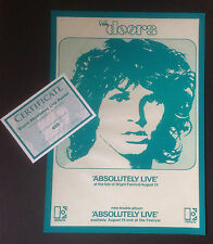 THE DOORS, 1970 ISLE OF WIGHT FESTIVAL - EXCLUSIVE LIMITED EDITION POSTER