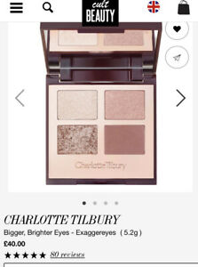 Charlotte Tilbury Eyeshadow bigger brighter eyes NEW