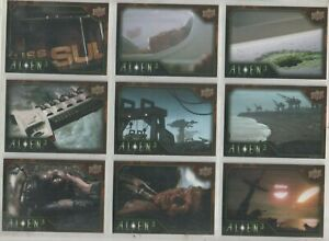 Alien 3 Upper Deck Base Set of 100 Trading Cards