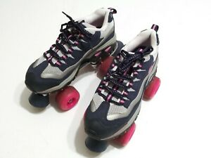 Sketchers 4 Wheelers Sport Roller Skates Womens Size 8 Nice Condition