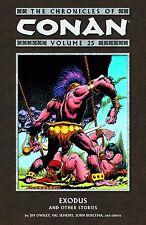 Chronicles of Conan Vol 25: Exodus & other stories 2013 TPB Marvel Dark Horse