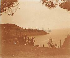 Nice Entrée Port France Plaque P4 Stereo Vintage Positif 6x13cm