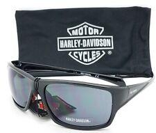 NEW Harley Davidson Men's Sport Wrap Sunglasses HD0126V 01A Black AUTHENTIC HD