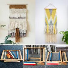 Wooden Weaving Loom Creative Diy Weaving Art 15.7 x 11.4 x 1.4 '' for Kids Adult