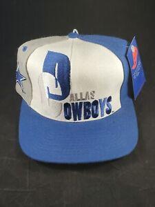 Dallas Cowboys Snapback Hat AJD Pro Line Authentic NFL Big Logo Rare Vintage 90s