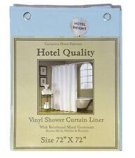"Blue Heavy Weight Hotel Quality 8-gauge Vinyl  Shower Liner: 72"" x 72"""