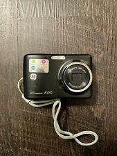 GE W1000 10.1MP Digital Camera - Black, Comes with Travel Case