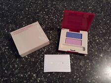 Avon Silk Finish Eyeshadow Duo #18 - Bluebonnet Waterlily Pink 0.10 oz - Nos