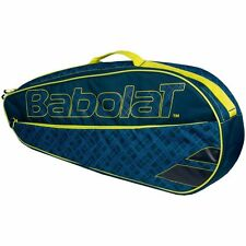 BABOLAT CLUBLINE 3 RACKET TENNIS BAG BLUE YELLOW IDEAL FOR TRAVEL , PADEL 2017