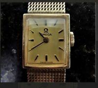 1970 omega 10k gold filled 17 jewel ladies watch serial H-5330