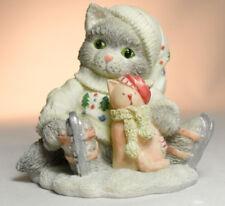 Calico Kittens: Friendship Cushions The Fall - 651087 - Skating Kitten