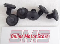 VW CADDY ROOF BLANKING SCREW BOLT BOLTS (SET OF 6) -  GENUINE PARTS + WASHERS