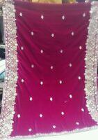 Embroided Velvet Shawl Premium Quality Micro Quality Shawl for Women