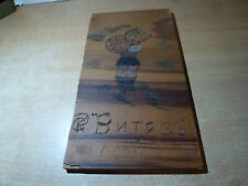 1955 Russian Original Art Carved Wood From Camp Porr In Jackson Nj