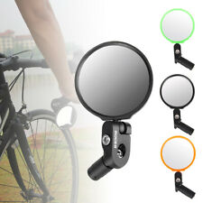 2x Flexible Bike Bicycle Cycling Cycle Handlebar Glass Rear View Rearview Mirror