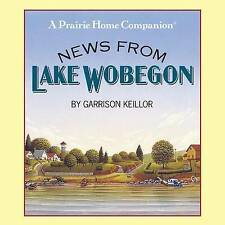 News from Lake Wobegon by Garrison Keillor (4CD-Audiobook, 1990)