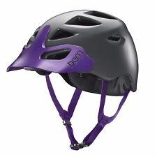 Womens Bern Prescott Road Cycling Helmet M/L Grey/Purple - Blemished Box