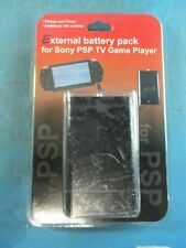 External Battery Pack for PSP Handheld Video Game Player - BRAND NEW!