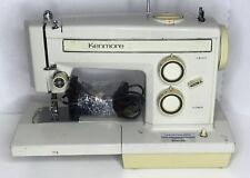 Vintage Heavy DUTY KENMORE INDUSTRIAL STRENGTH SEWING MACHINE 158-13360 Working