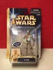 Star Wars A New Hope C-3PO Tatooine Ambush Hasbro MIB Gold Stripe