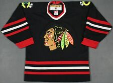 Chicago Blackhawks Vintage Koho NHL Jersey Black Youth L/XL