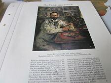 Frankfurt Archiv A 6 Portrait 3050 Prof. Dr. med Ludwig Edinger 1909 L Corinth