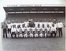 FULHAM F.C 1975-76 ORIGINAL FOOTBALL TEAM PHOTOGRAPH