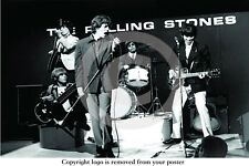 The Rolling Stones - Ready Steady Go ! - Professionally LAMINATED Rock Poster