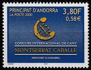 Andorra Frans postfris 2000 MNH 549 - Montserrat Caballe