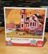 SUNSET VISIT - Hometown Collection - Heronim - 1000 Pieces - Used/Complete