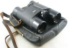 Leitz Wetzlar TRINOVID 8 x 32B Binoculars w/Strap and Leather Zip Case
