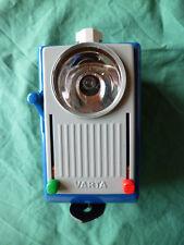 Varta Anhängeleuchte 685 (ohne Batterien), blau grau (vermutl. 60 Jahre)