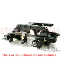 Leaf Spring Suspension for Rear Axles (X-8013A) [LESU] Tamiya 1/14 Tractor Truck
