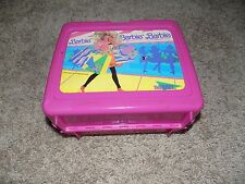 Vintage 1990 Plastic Lunch box With Thermos Barbie