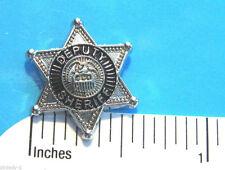 DEPUTY  SHERIFF - Hat pin ,  lapel pin , tie tac , hatpin  GIFT BOXED