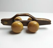 Vintage Mercedes Benz MB 380 SL Wood Sports Car Wooden Hand Back Massager