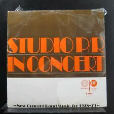 Various - Studio P/R New Concert Band Music For 1978-79 LP New Sealed R7801