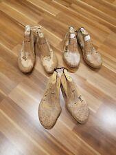 3x Paar Schuhleisten Holzleisten Schuhmacherleisten Deko