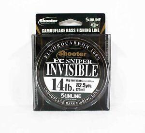 Sunline Fluorocarbon Line FC Sniper Invisible 75m 14lb 0.33mm (2223)