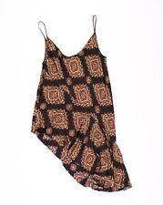 Dries Van Noten Silk Pixelated Asymmetrical Dress Size 36 / XS